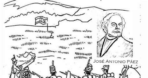 imagenes para colorear jose antonio paez colorear batalla de carabobo venezuela