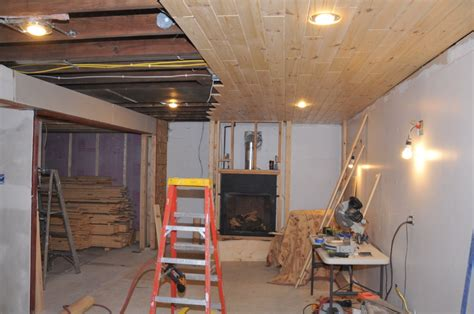 New House Plans With Interior Pictures by Basement Ceiling Tongue And Groove New Fireplace Decor