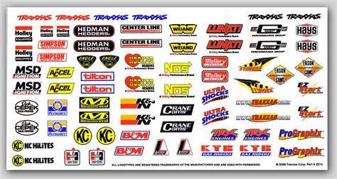 Auto Sponsoren Aufkleber by Racing Sponsor Logos 70 Traxxas 9 Quot Vinyl Sticker