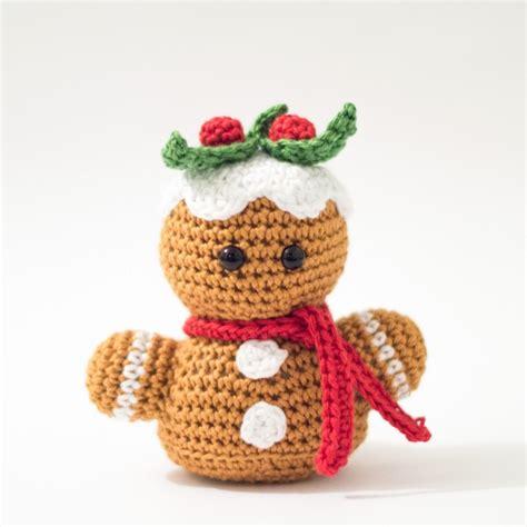 crochet pattern gingerbread man gingerbread to crochet free patterns grandmother s
