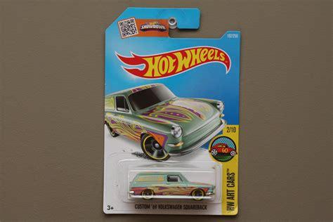 Hotwheels Error Custom 69 Volkswagen Squareback wheels 2016 hw cars custom 69 volkswagen squareback pastel green