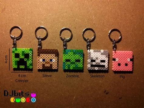 how to make a perler bead keychain pin by suzanne king on perler