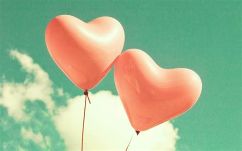Love heart balloons hd wallpaper one hd wallpaper pictures backgrounds free download