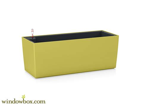 belterra self watering window box planters pistachio