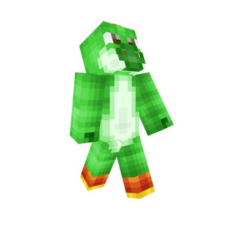 Yoshi Minecraft Skin - Yoshi skin fur minecraft pe