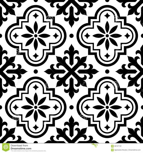 pattern tiles black and white spanish tile pattern moroccan tiles design seamless