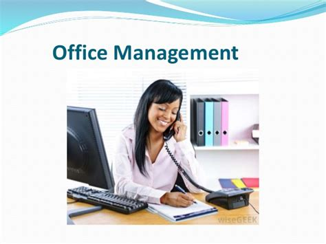 bureau am駭agement office management