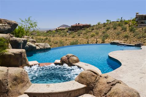Images Of Backyards With Pools Infinity Edge Swimming Pool Gallery Presidential Pools