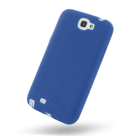 Silicon Casing Softcase Standing Samsung Note 2 N7100 samsung galaxy note 2 luxury silicone soft blue pdair 10