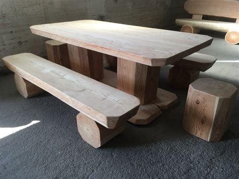 tavolo sgabelli tavolo da giardino con panche e sgabelli enrosadira