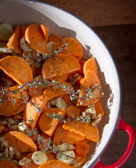 roasted root vegetable recipes with honey sweet and light the healthiest sweet potato recipes you
