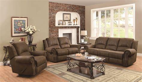 green leather sofa 833 sir rawlinson motion sofa 650151 in brown coated microfiber