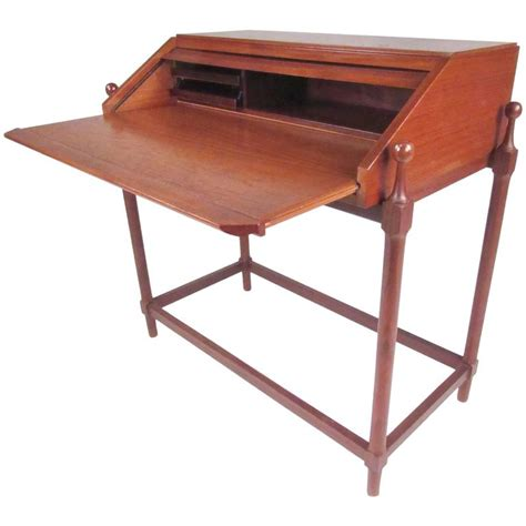 teak roll top desk italian modern teak roll top desk by proserpio fratelli