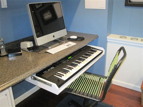 Studio Desk With Keyboard Drawer by 16 Best Images About Keyboard Ideas On Studios