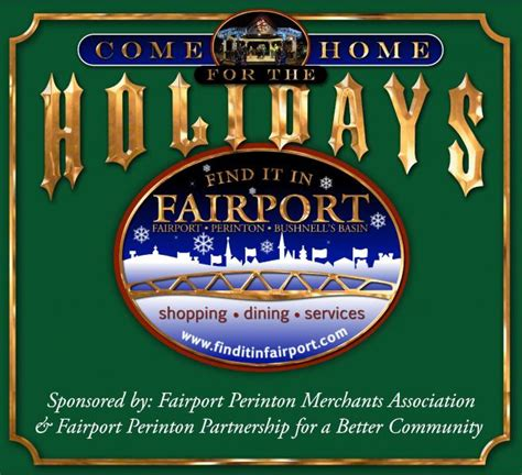 fairport tree lighting come home for the holidays out and about rochester
