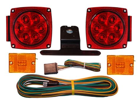 submersible led light kit for trailers 80 quot wide with