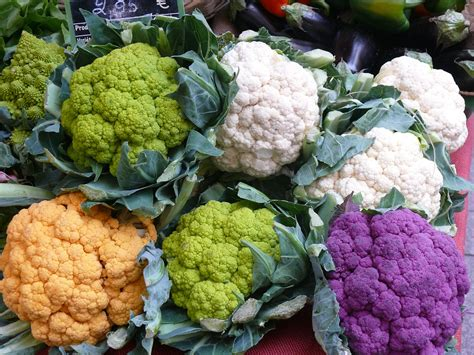 colorful vegetables cauliflower colorful vegetables 183 free photo on pixabay