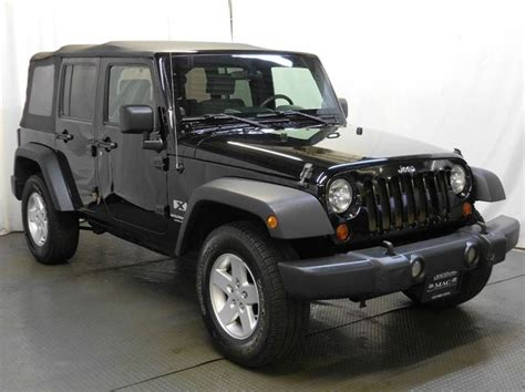 2008 Jeep For Sale 2008 Jeep Wrangler Unlimited For Sale In Cincinnati Oh