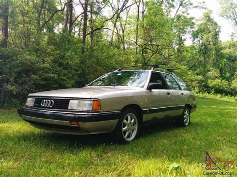Audi Quattro 1989 by 1989 Audi 200 Quattro Avant Base Wagon 4 Door 2 2l 10v