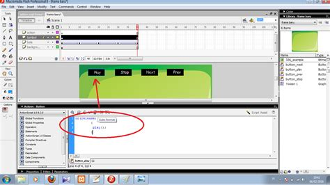 tutorial membuat powerpoint unik tombol next bergerak tombol next bergerak action script