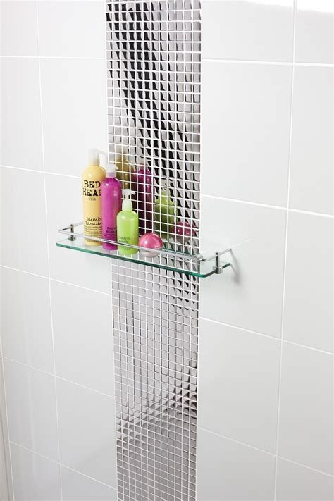 silver mosaic tiles bathroom a silver glass tile sized 30cm x 30cm the silver glass