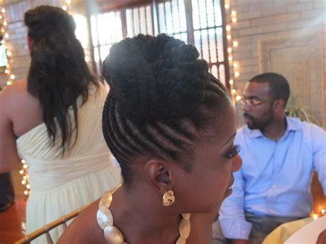 wedding canerow hair styles from nigeria cornrows bun updo for women sweet do huh i love it