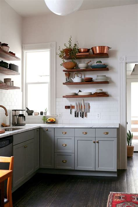 floating cabinets kitchen 35 floating shelves ideas for different rooms digsdigs