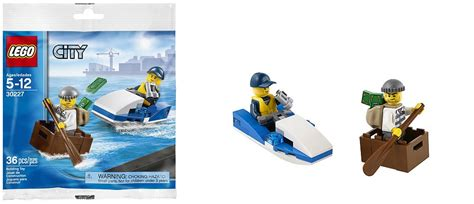 Lego City 30227 Watercraft Polybag Set Cop Robber Boat New toys n bricks lego news site sales deals reviews mocs new sets and more