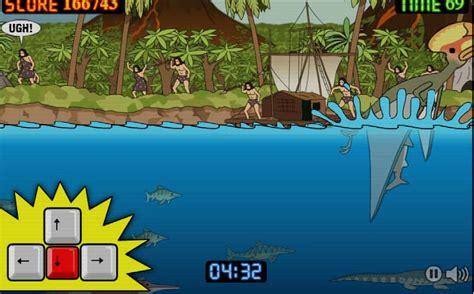 Prehistoric Shark spel - FunnyGames.be Goodgame Gangster