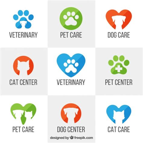 Veterinary Logo Templates Vector Free Download Veterinarian Badge Template