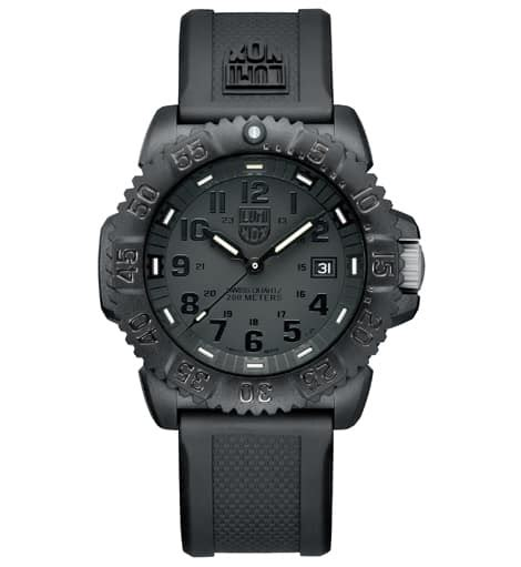 Luminox Black Shoot luminox navy seal colormark 3051 bo black out