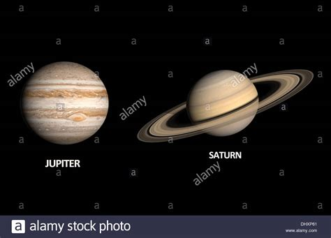 saturn and jupiter a comparison between the gas planets jupiter and saturn on