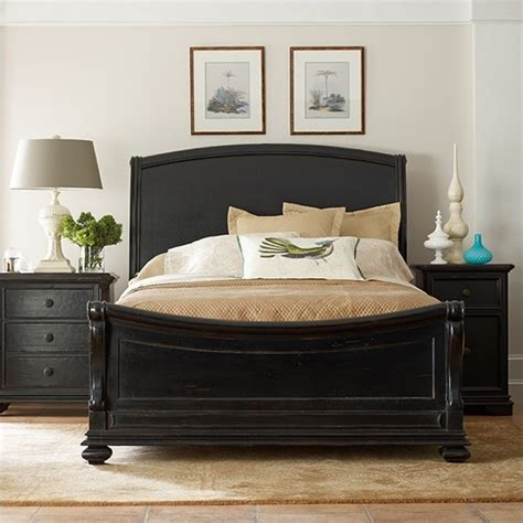 california king sleigh bedroom set stanley furniture continental california king sleigh bed