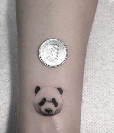 panda tattoo on finger these are possibly the cutest animal tattoos ever 54