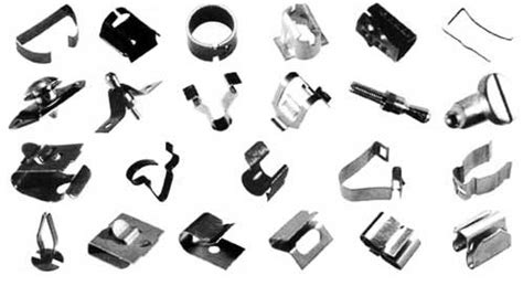 Keys Upholstery Tubular Clip Nuts Safety Fittings Fixing Clamps For
