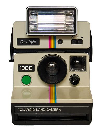 polaroid land flash polaroid land 1000 q light electronic flash fron