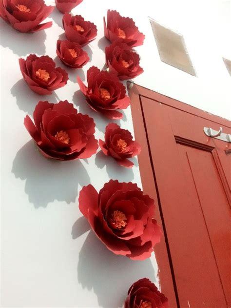 cara membuat bunga dari kertas untuk hiasan 10 ide kertas dinding terbaik di pinterest latar