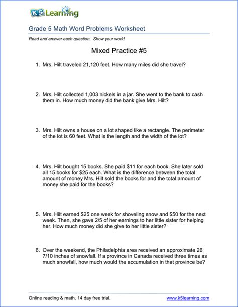 Fraction Word Problems Worksheets by Printable Fraction Word Problems Boxfirepress