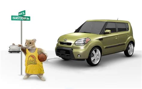 Kia Soul Hamster Kia Soul Hamster Ad Clinches 2010 Silver Effie Award