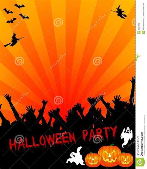 imagenes de halloween party halloween party invitation royalty free stock photos