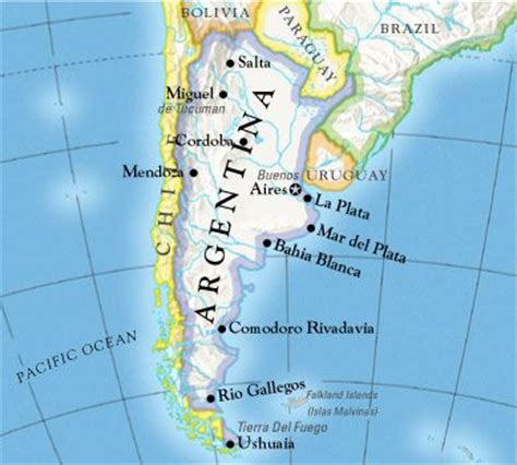 la plata argentina map uruguay in south america with coast to the de la plata