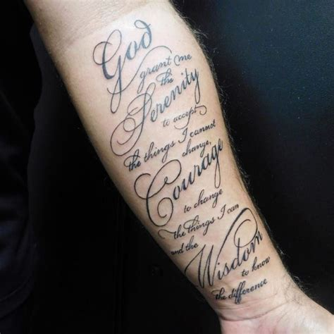serenity prayer tattoo 55 inspiring serenity prayer designs serenity