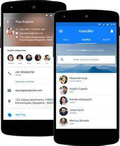 Truecaller Address Search Truecaller App On Android Phones And Unified Communications