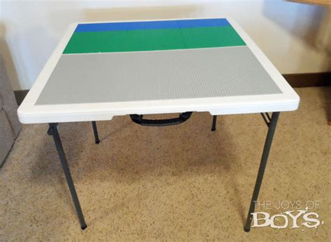 How To Build A Lego Table by How To Make An Easy Lego Table The Joys Of Boys