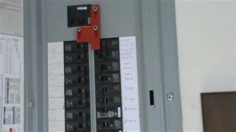 wire  generator   electrical panel youtube