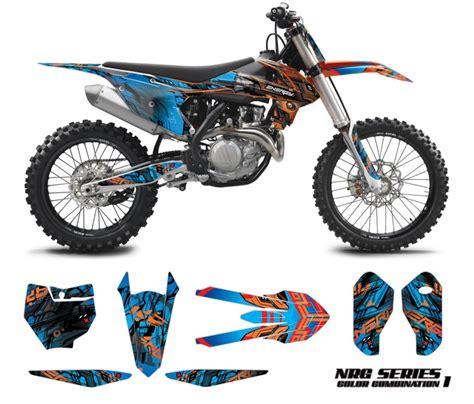 design graphics for dirt bike ktm motocross graphics kit nrg omx graphics