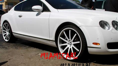matte white bentley matte white bentley continental gt on 22 s at dale s