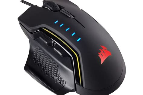 Mouse Morrologic Asic 5 Gaming 1 corsair s new gaming mouse comes with swappable thumb grips the verge