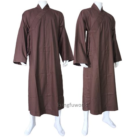 zen meditation robes high quality thick cotton buddhist monk dress shaolin robe