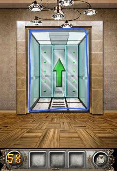 100 Doors Floor 58 by The Floor Escape Level 58 Walkthrough